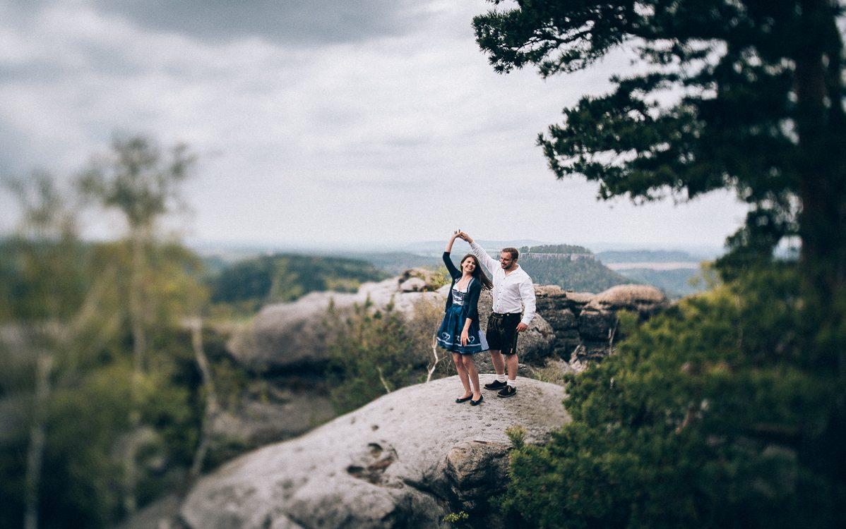 Abenteuershooting Laura & Steve - Elbsandsteingebirge